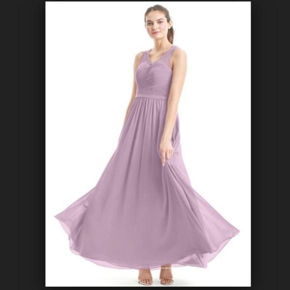 07263fc7724 Azazie Beverly Wisteria Dress